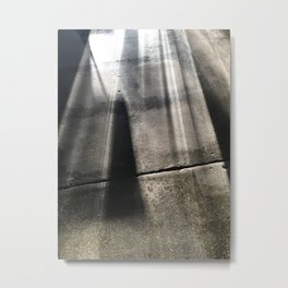 concrete + coffee Metal Print