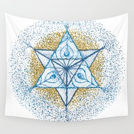 Dotrahedron Wall Tapestry