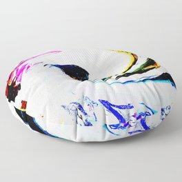 496 - Abstract Colour Design Floor Pillow