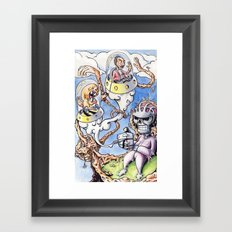 Nightman Cometh Framed Art Print
