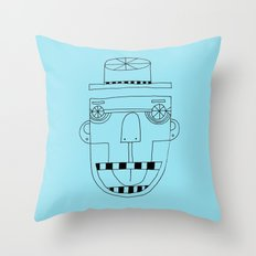 Funky Monkey Throw Pillow