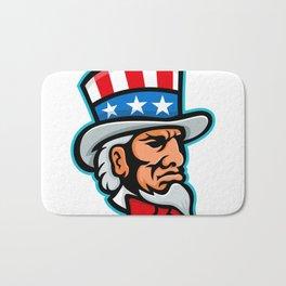 Uncle Sam Mascot Bath Mat