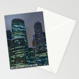 Moscow's Skyscrapers Stationery Cards