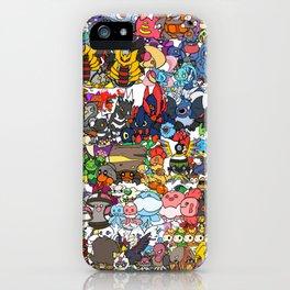 pokeman iPhone Case