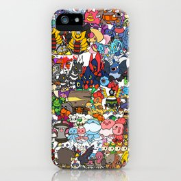 pokeman iPhone Case