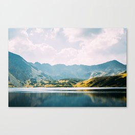 Autumn Mountain Lake Canvas Print