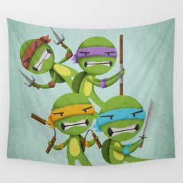 Heroes in a Half Shell Wall Tapestry