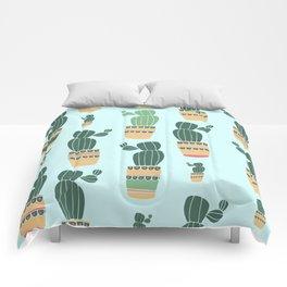 Cactus Repeat Comforters