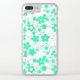 Paper flowers 2 Clear iPhone Case