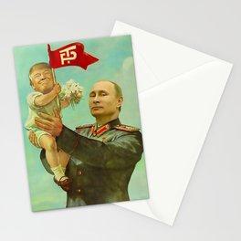 Trump Putin Stationery Cards