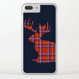 Lumberjackalope Clear iPhone Case