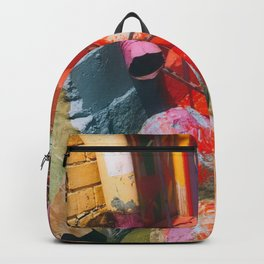 Colored Concrete Backpack