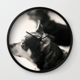 Charlie and Lucie 2 Wall Clock