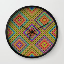 hang on to rhomb self Wall Clock