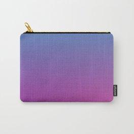 RETRO BLAST - Minimal Plain Soft Mood Color Blend Prints Carry-All Pouch