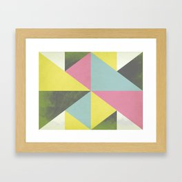 What's Your Angle Framed Art Print