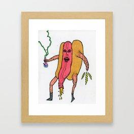 Frankfurter Kush Framed Art Print