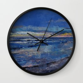 Midnight Blue Wall Clock