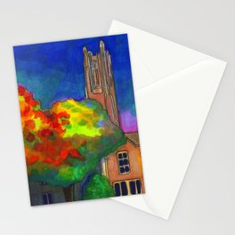 The Academic Quad Stationery Cards