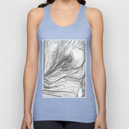 ASC 634 - Le drapé (Paranormal activity) Unisex Tank Top