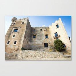 Spanish Building Canvas Print