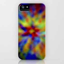Frosted vitrum post tergum color ratesque iPhone Case