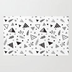 Organic Triangles Rug