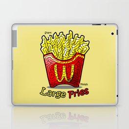 Maze Shirts: Large Fries Laptop & iPad Skin
