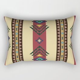 American Native Pattern No. 101 Rectangular Pillow