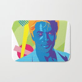 SONNY :: Memphis Design :: Miami Vice Series Bath Mat