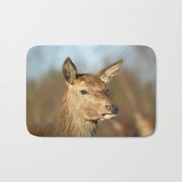 Wild Red Deer Bath Mat