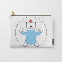Vitruvian Bear Carry-All Pouch