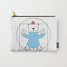 Vitruvian Bear Carry-All Pouch