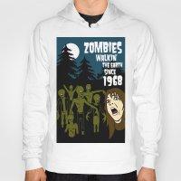 walking dead Hoodies featuring Walking Dead by grawiton