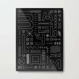 Babylon Metal Print