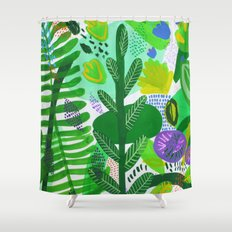Between the branches. II Shower Curtain