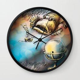 Dangerous Meetings Wall Clock
