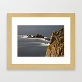 Land's End, Cornwall, England, United Kingdom Framed Art Print