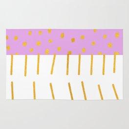 AZTEC BABE - Modern Pink Furniture Rug