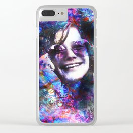 Just Smile Clear iPhone Case