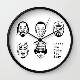 West Coast Legends Wall Clock