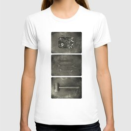 Dad used to make things (triptych one) T-shirt
