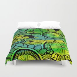 Big Floral 2 Duvet Cover