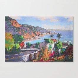 Malibu Coast Canvas Print