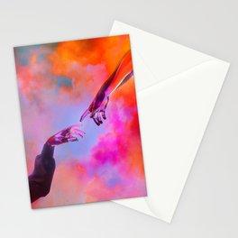 La Création d'Adam - Dorian Legret x AEFORIA Stationery Cards