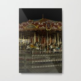 The Rides, The Carousel Metal Print