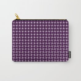 purple,color pattern of many small four corners Carry-All Pouch