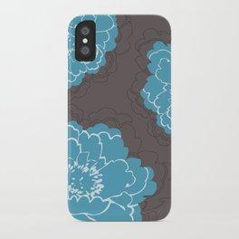 Autumn Peony iPhone Case