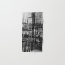 Grayscale Stains Hand & Bath Towel