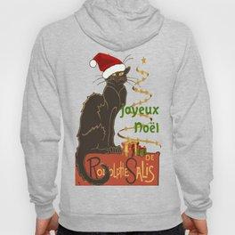 Joyeux Noel Le Chat Noir Christmas Parody Hoody